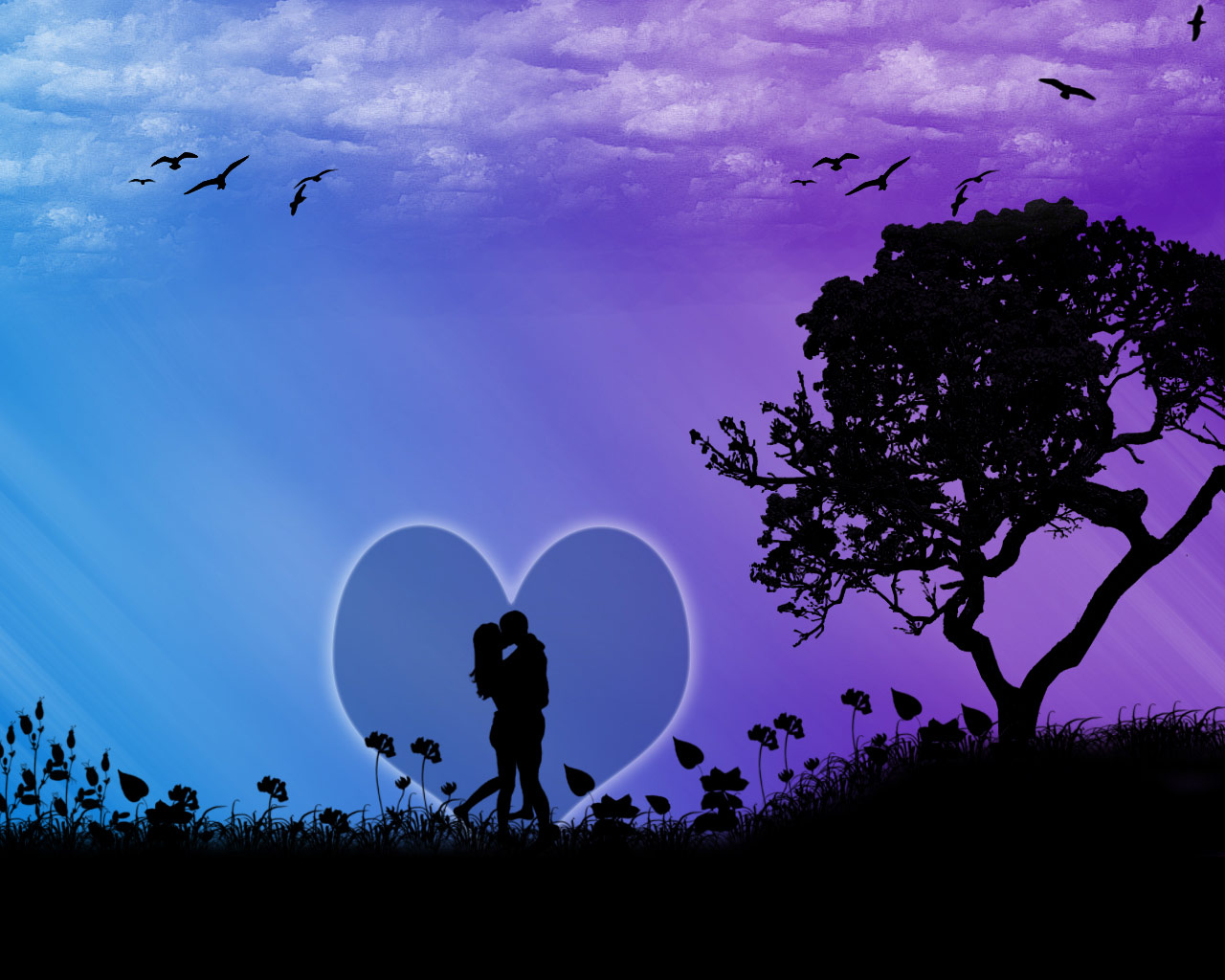 80 Desktop Wallpapers Its All About Love Romance and Heart 1280x1024