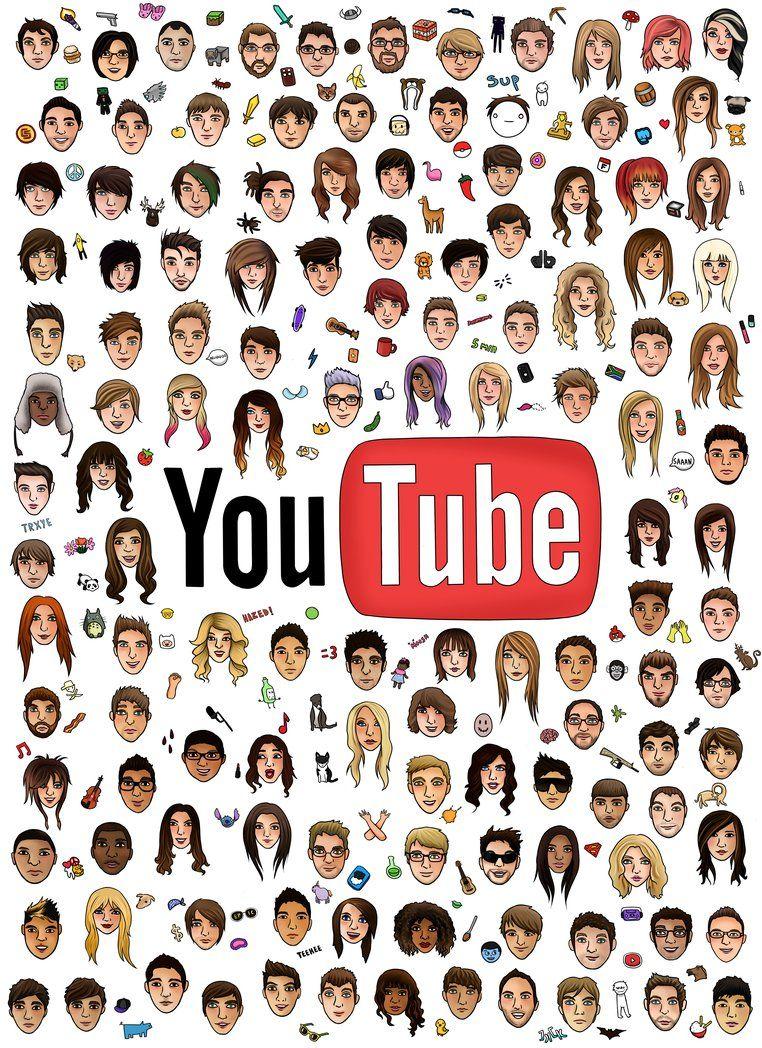 youtubers wallpaper   Google Search Youtube logo Youtubers 762x1048
