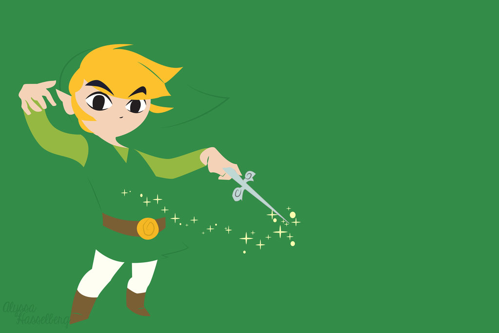 Toon Link Wallpaper by TheGreatDawn 1024x683