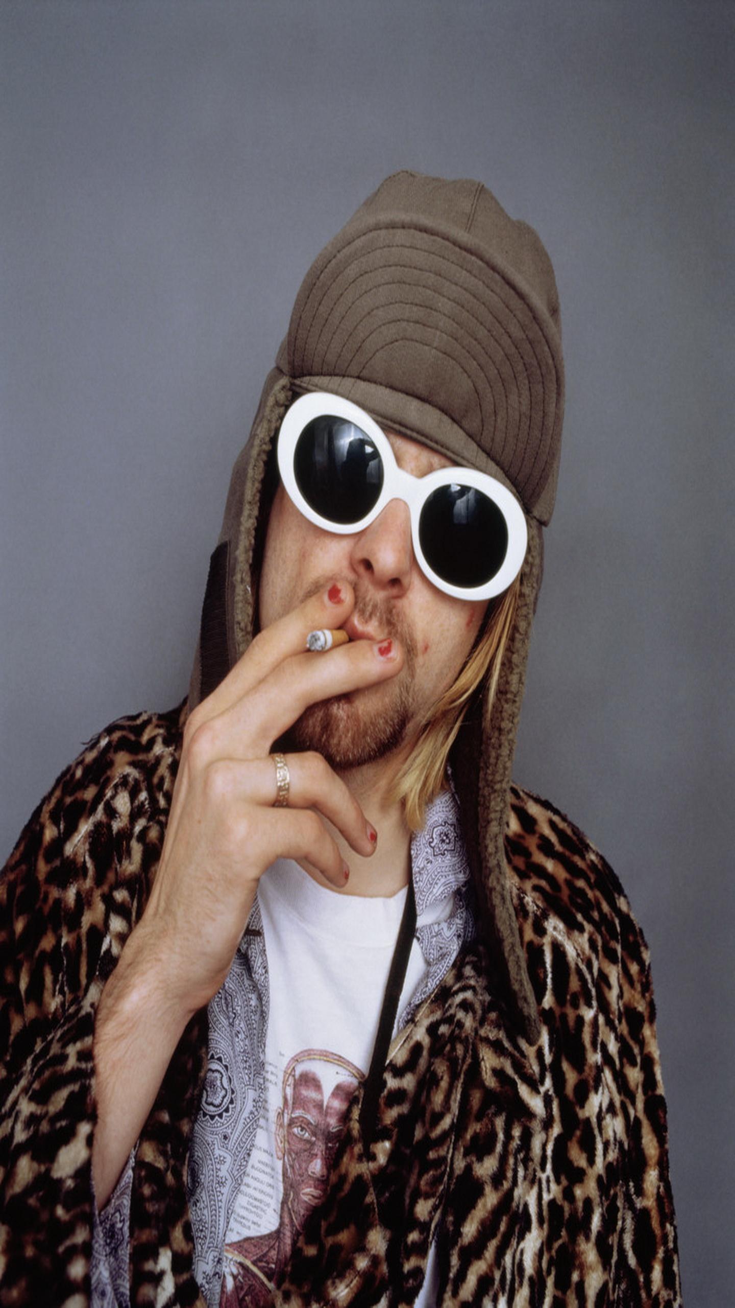 42 kurt cobain hd wallpaper on wallpapersafari - Kurt cobain nirvana wallpaper ...