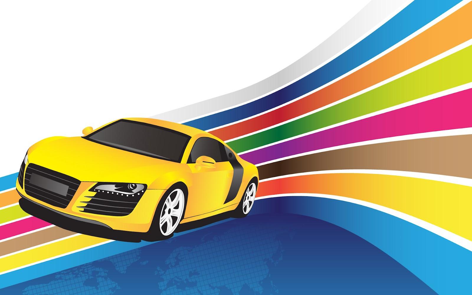 Wallpaper cars cartoon wallpapersafari - Car racing wallpaper free download ...