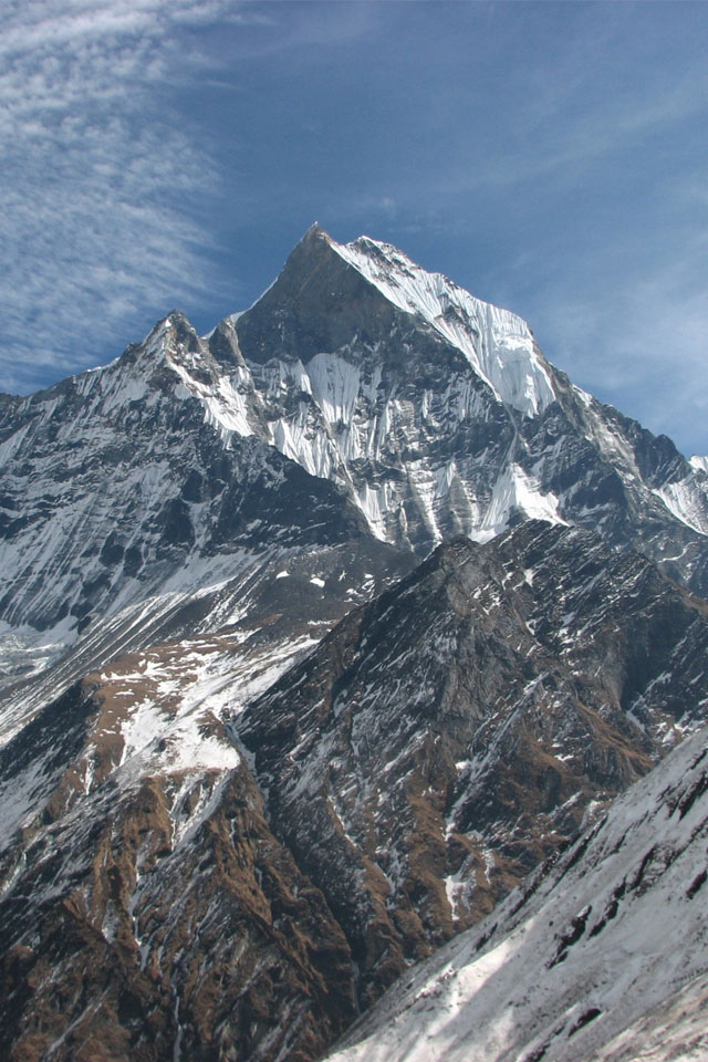Himalayas Wallpaper 640x960