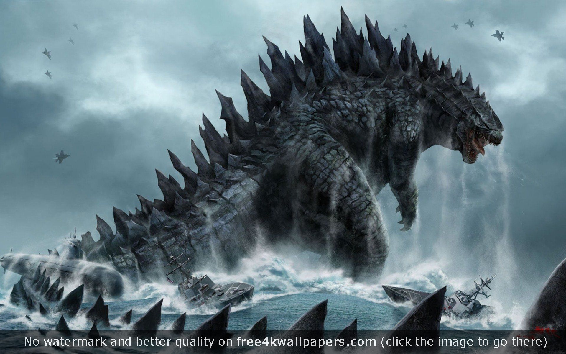 Godzilla HD Wallpapers WallpapersIn4knet 1920x1200