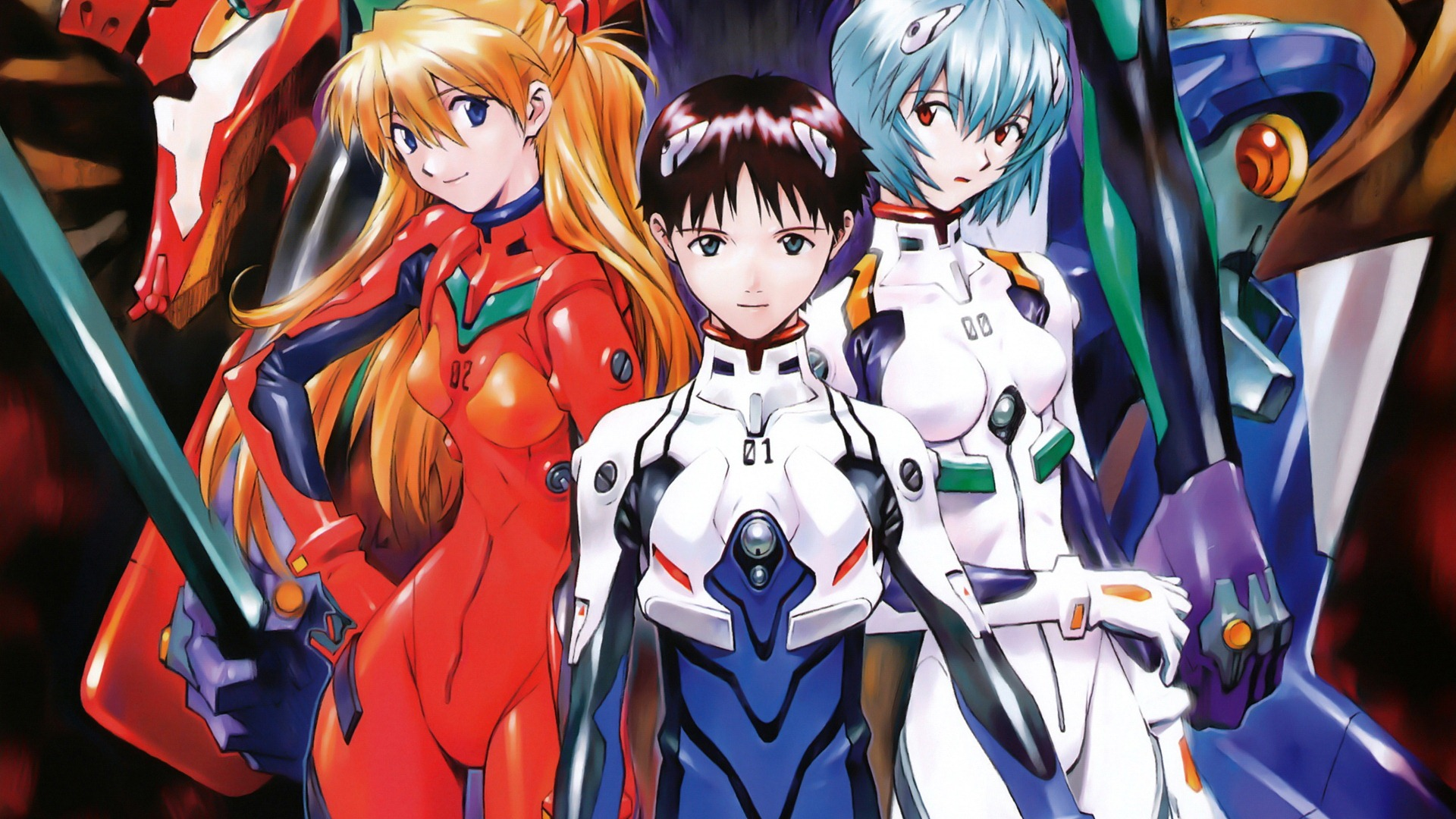 Free Download Neon Genesis Evangelion Hd Wallpapers 1920x1080