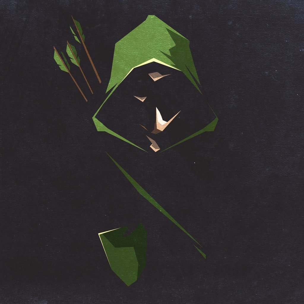 OLIVERDANT Green Arrow PostersArt 1024x1024