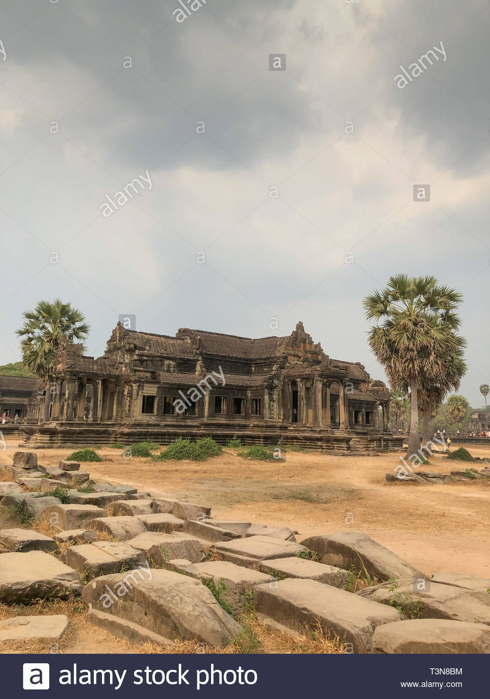 Angkor Cambodia Ancient wall Temples background and exotic travel 975x1390