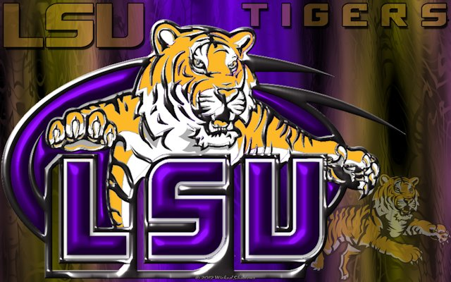 Lsu Wallpaper Lsu tigers 3d wallpaper 640x400