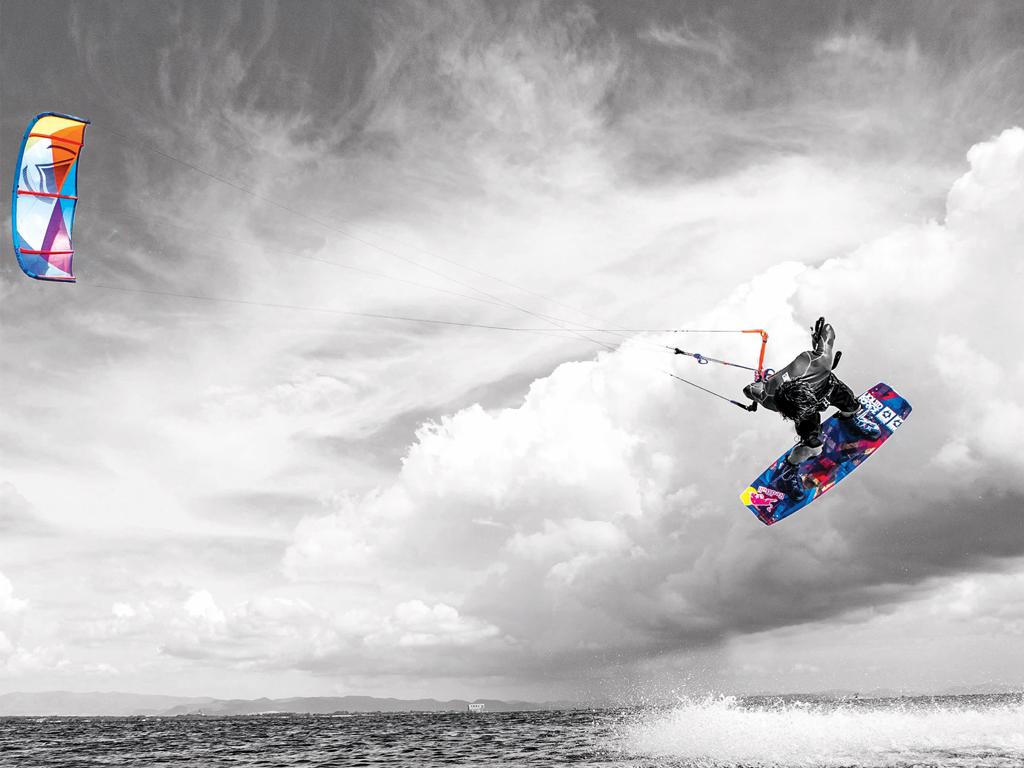 Download Liquid Force Kiteboarding wallpaper Christophe Tack 1024x768