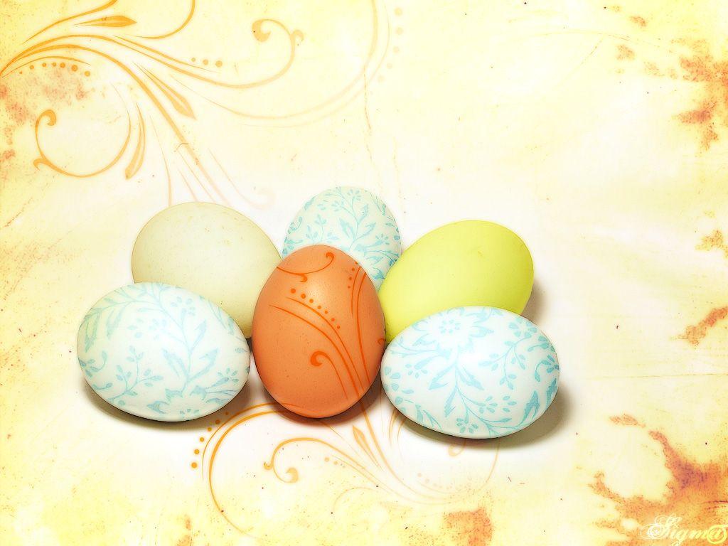 1024x768 Easter eggs desktop PC and Mac wallpaper 1024x768
