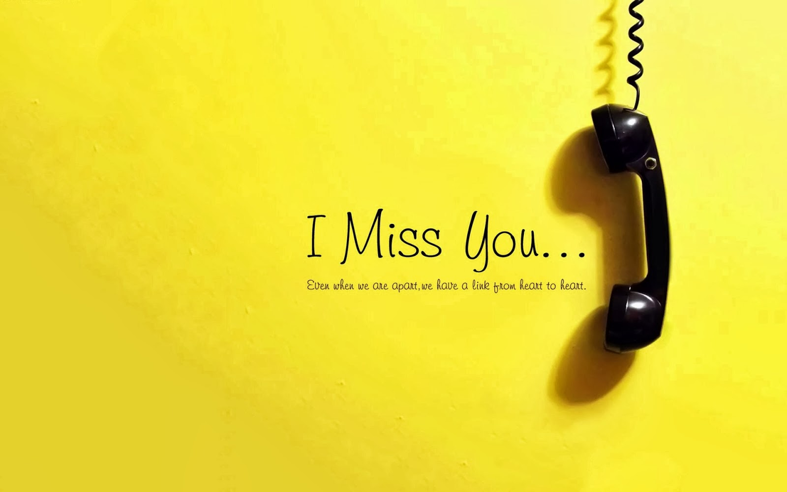 Missing Beats of Life Miss You HD Wallpapers and Images 1600x1000