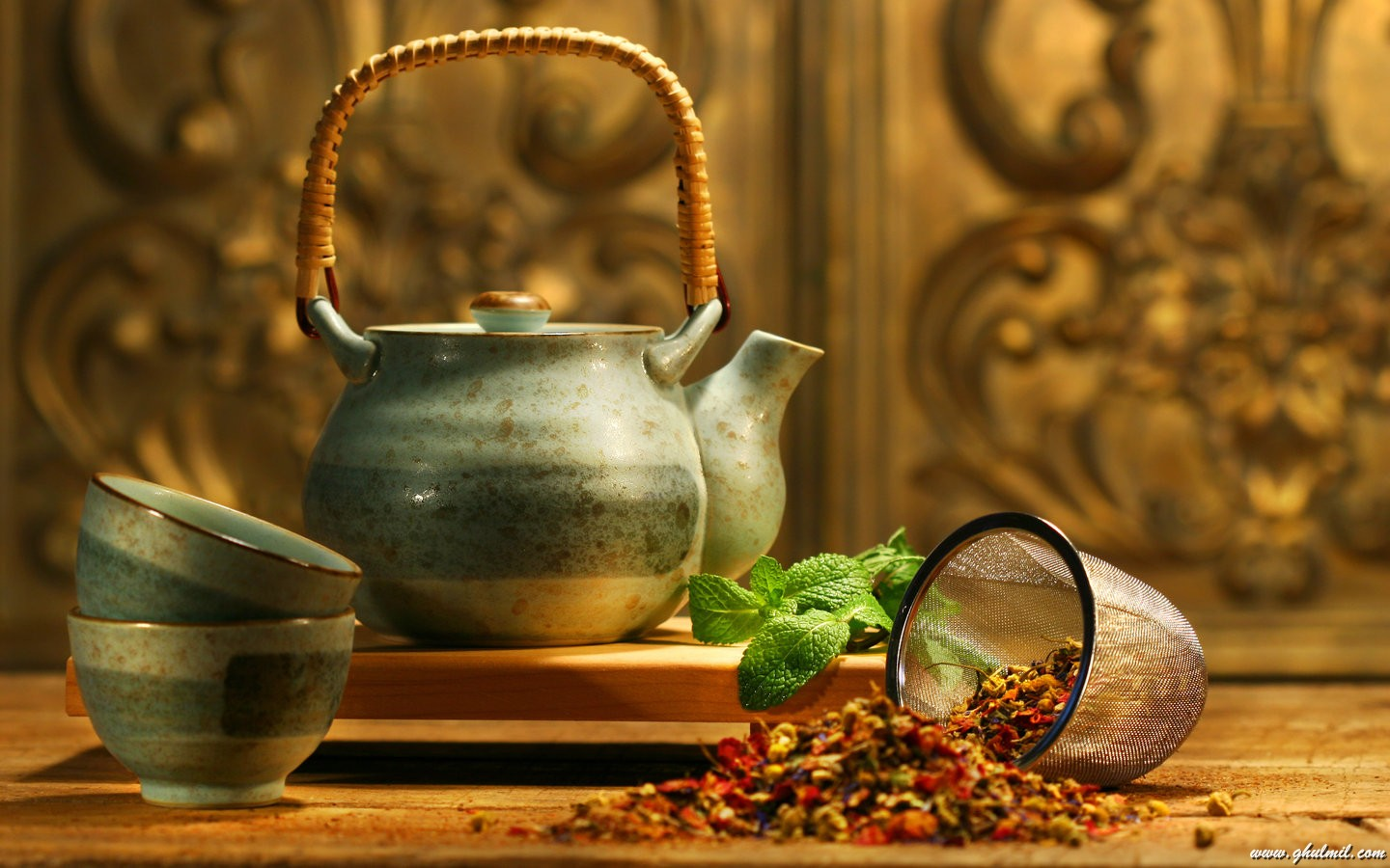 Beautiful Chinese Cultural Kettle Desktop Wallpaper E Entertainment 1440x900