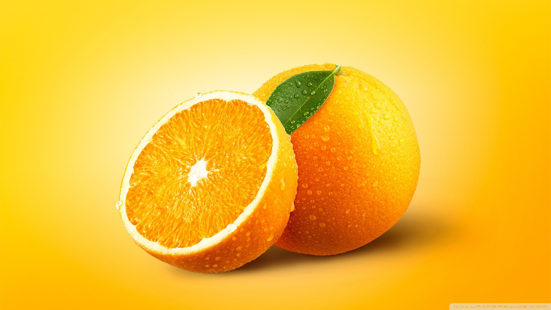 Orange Fruits 4K HD Desktop Wallpaper for 4K Ultra HD TV Dual 1920x1080