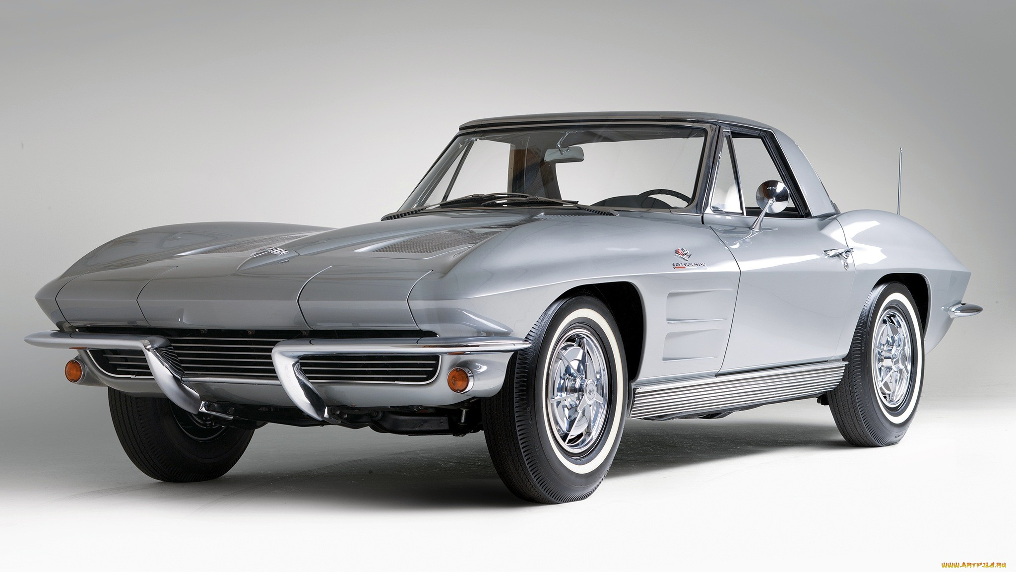 1963 Chevrolet Corvette Sting Ray supercar classic muscle cars 2048x1152