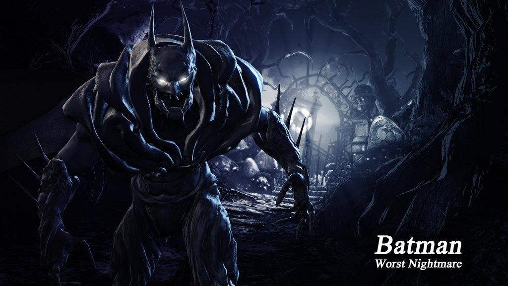 Batman Worst Nightmare Wallpaper by BatmanInc 1024x576