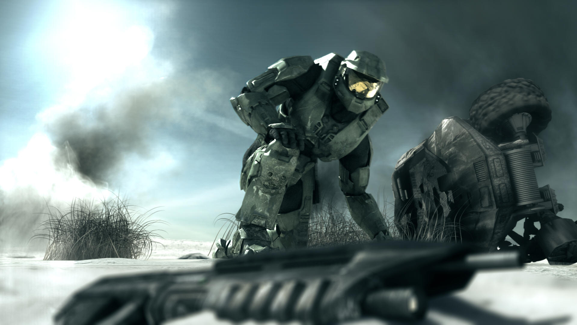 Halo 3 Master Chief Wallpaper Mobile Phones 1920x1080
