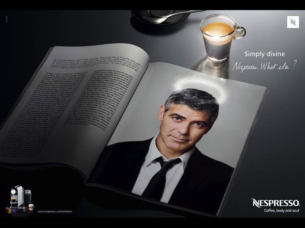 Pin by Keira Brown on Coffee Nespresso George clooney Coffee 1024x768