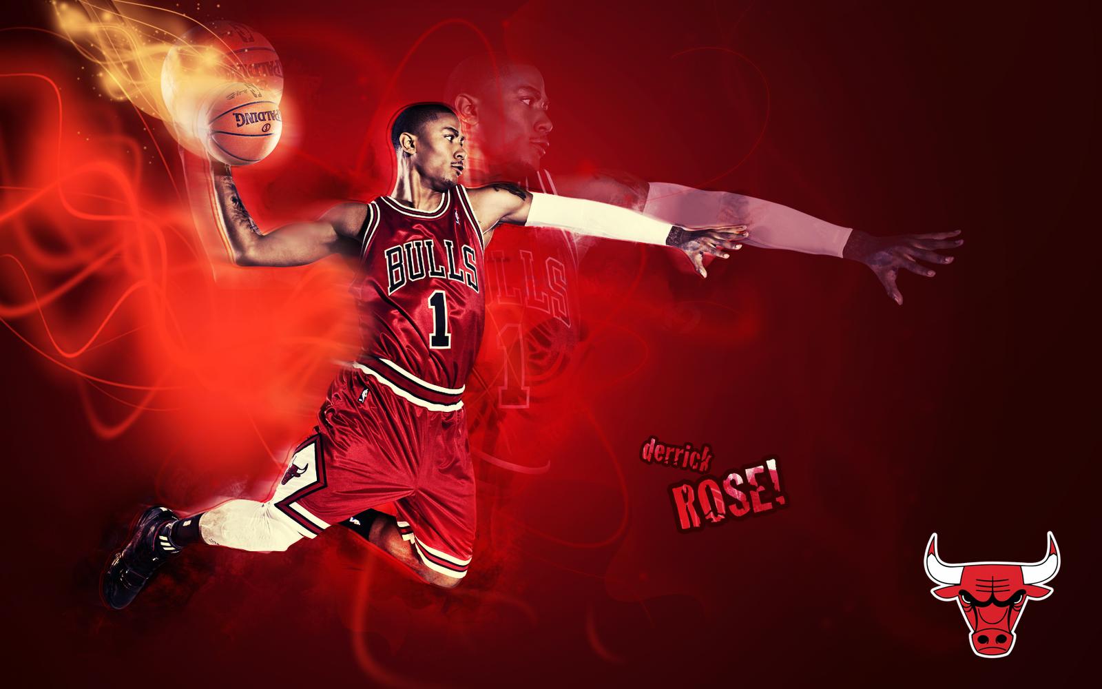 Derrick Rose basketball wallpapers 1600x1000