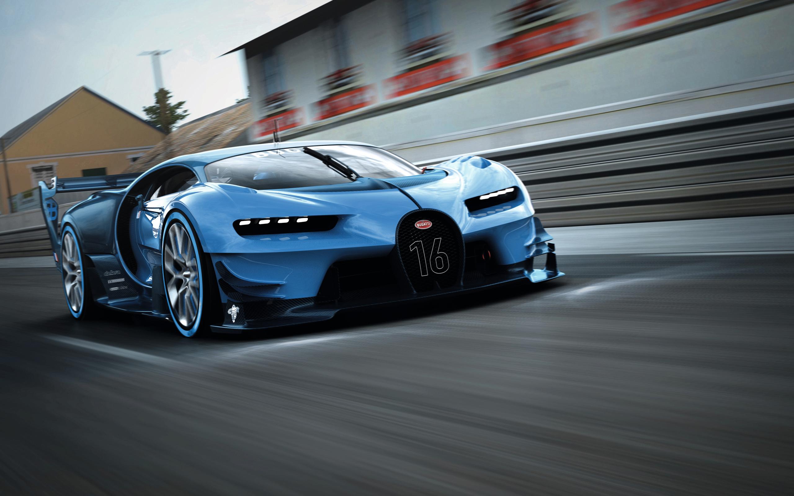 Bugatti Vision Gran Turismo 2015 Wallpaper HD Car Wallpapers 2560x1600