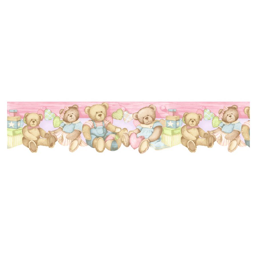 Shop Norwall Baby Bear Wallpaper Border at Lowescom 900x900