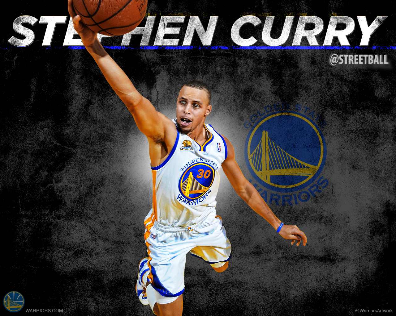Stephen Curry Wallpaper Warriors 5 1280x1024
