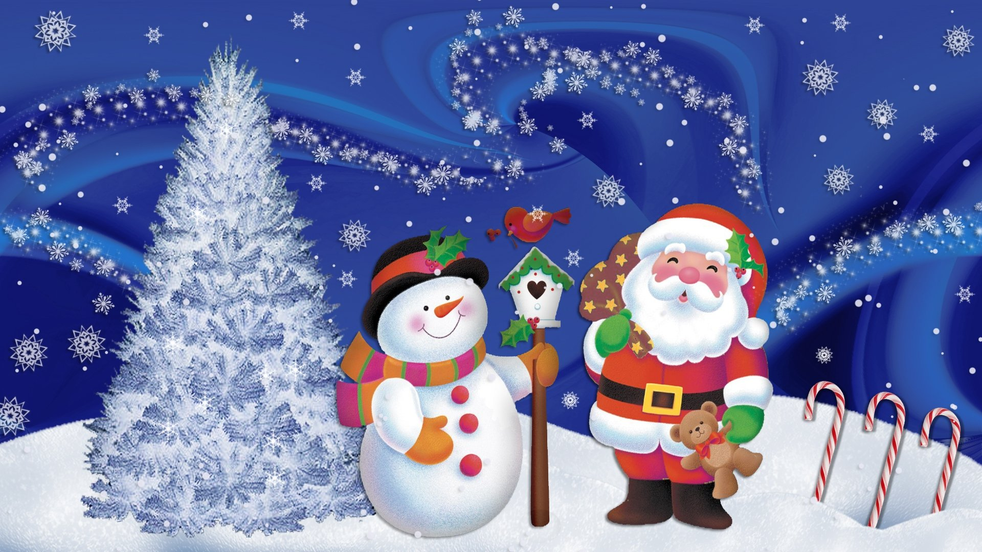 free christmas screensavers 1920x1080