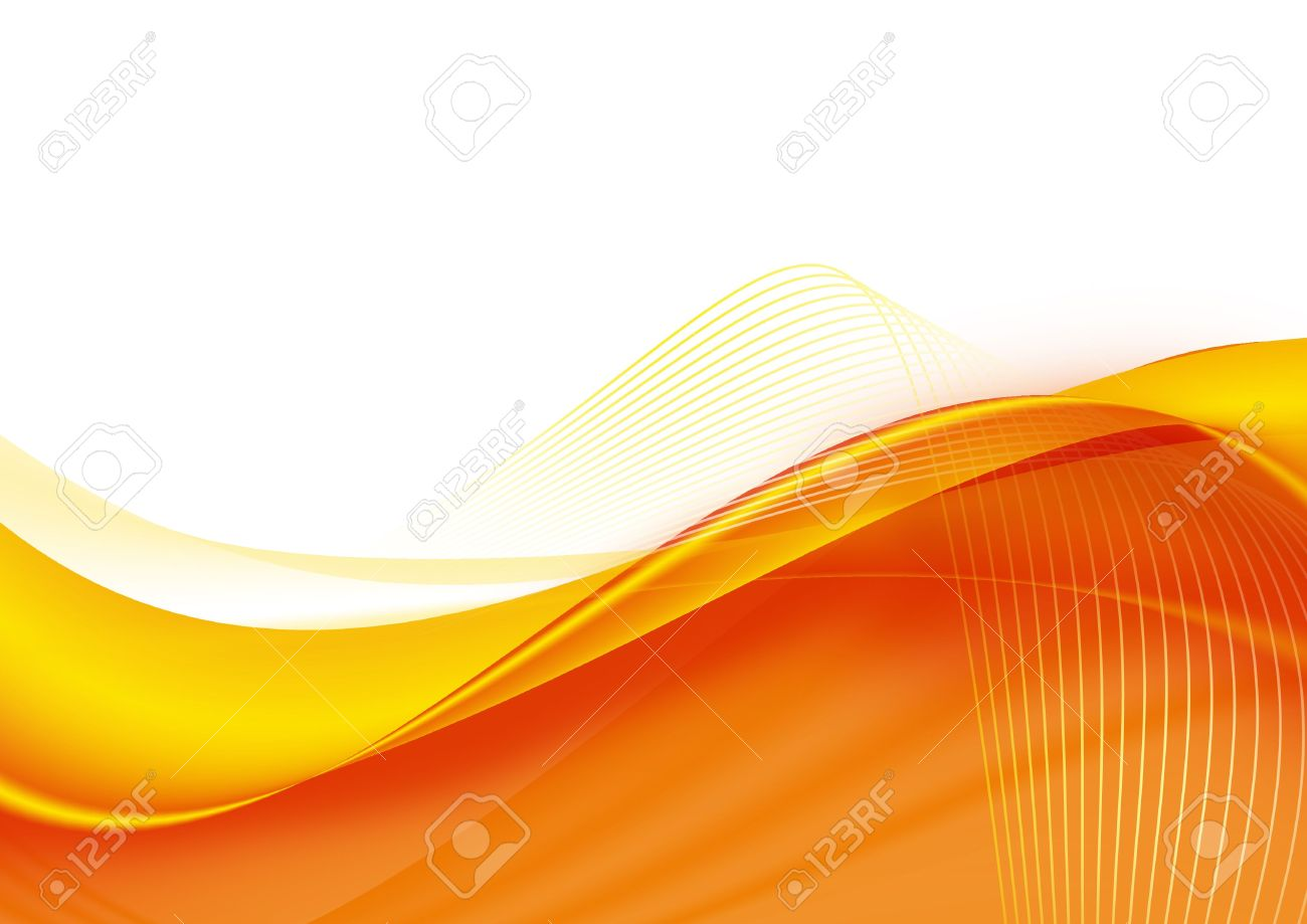 A Beautiful Abstract Artistic Orange 3 d Wallpaper Stock Photo 1300x919