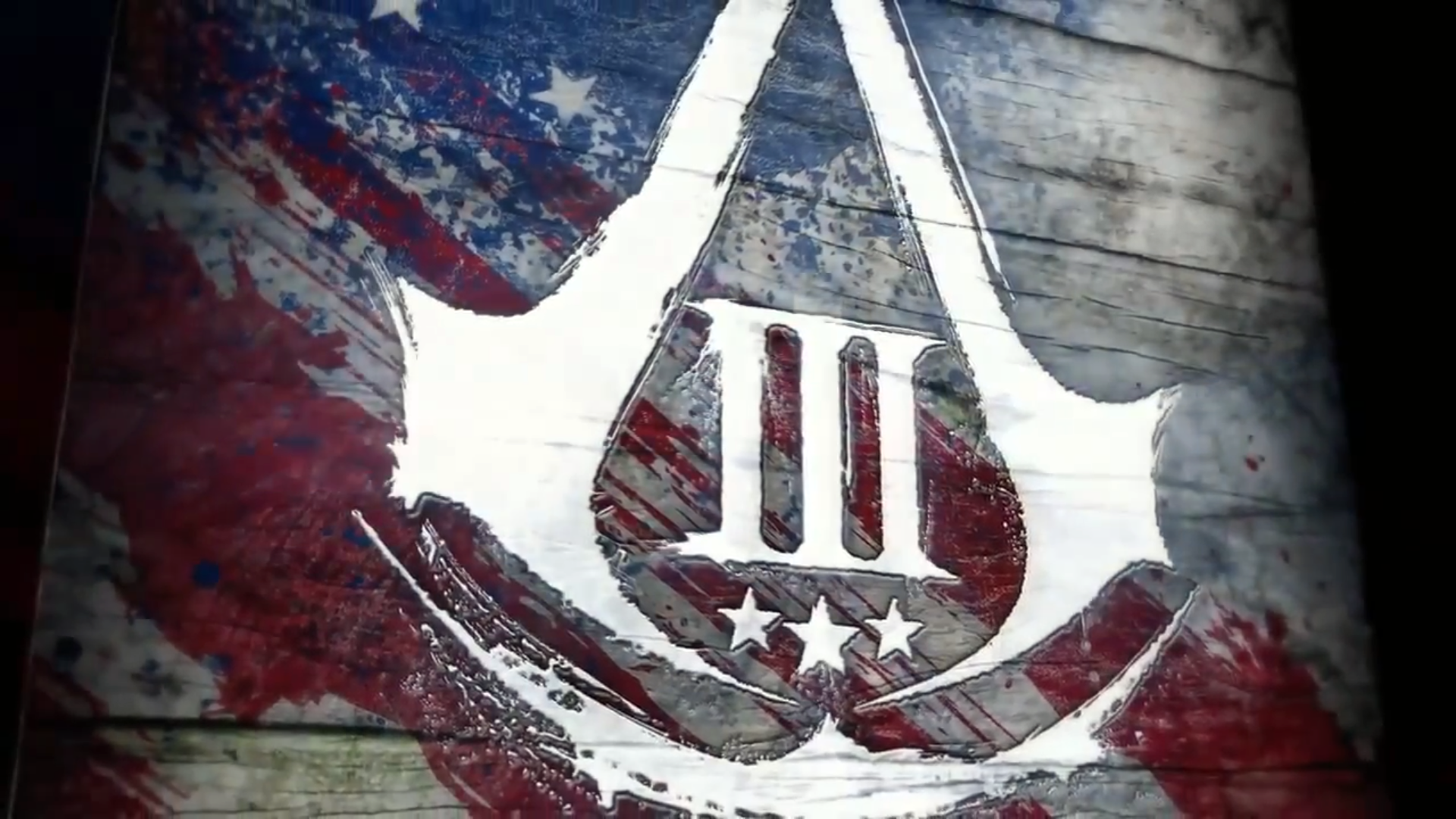 Assassins Creed 3 Wallpaper yuiphone AC3 Logo RWB Wallpaper HD 1920x1080