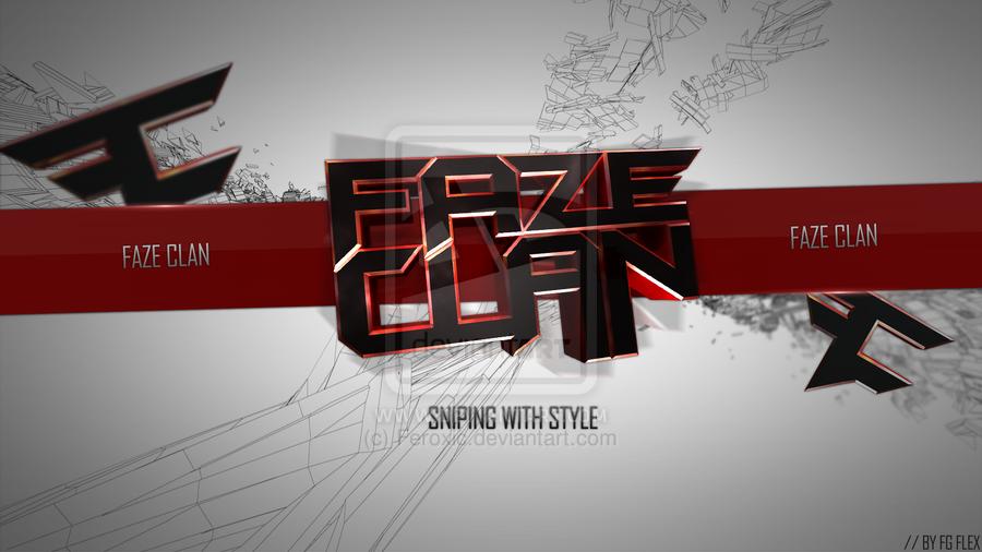 FaZe Clan Fresh Desktop by Feroxic 900x506