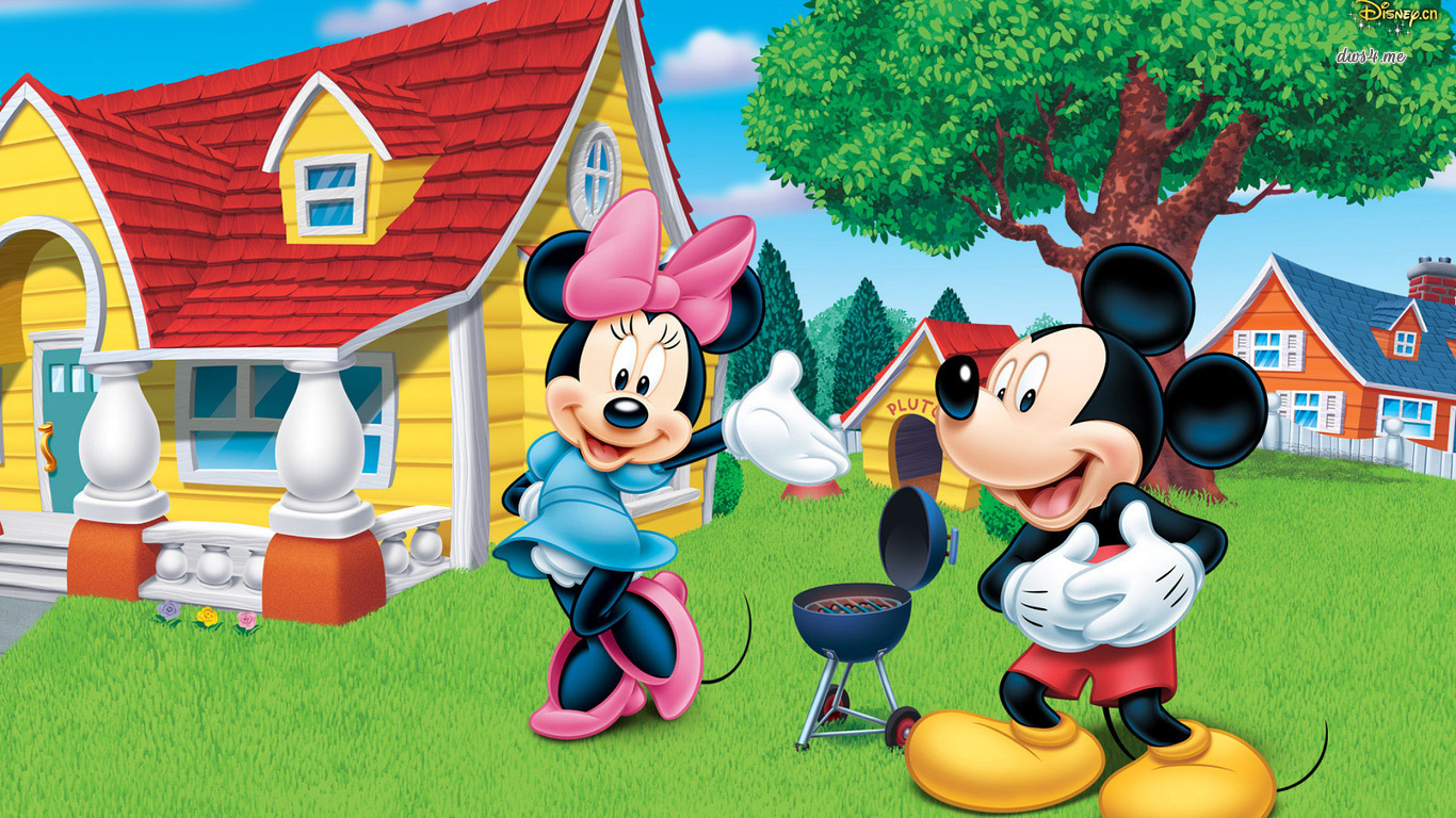 Free Download Minnie And Mickey Mouse Wallpaper Cartoon Wallpapers