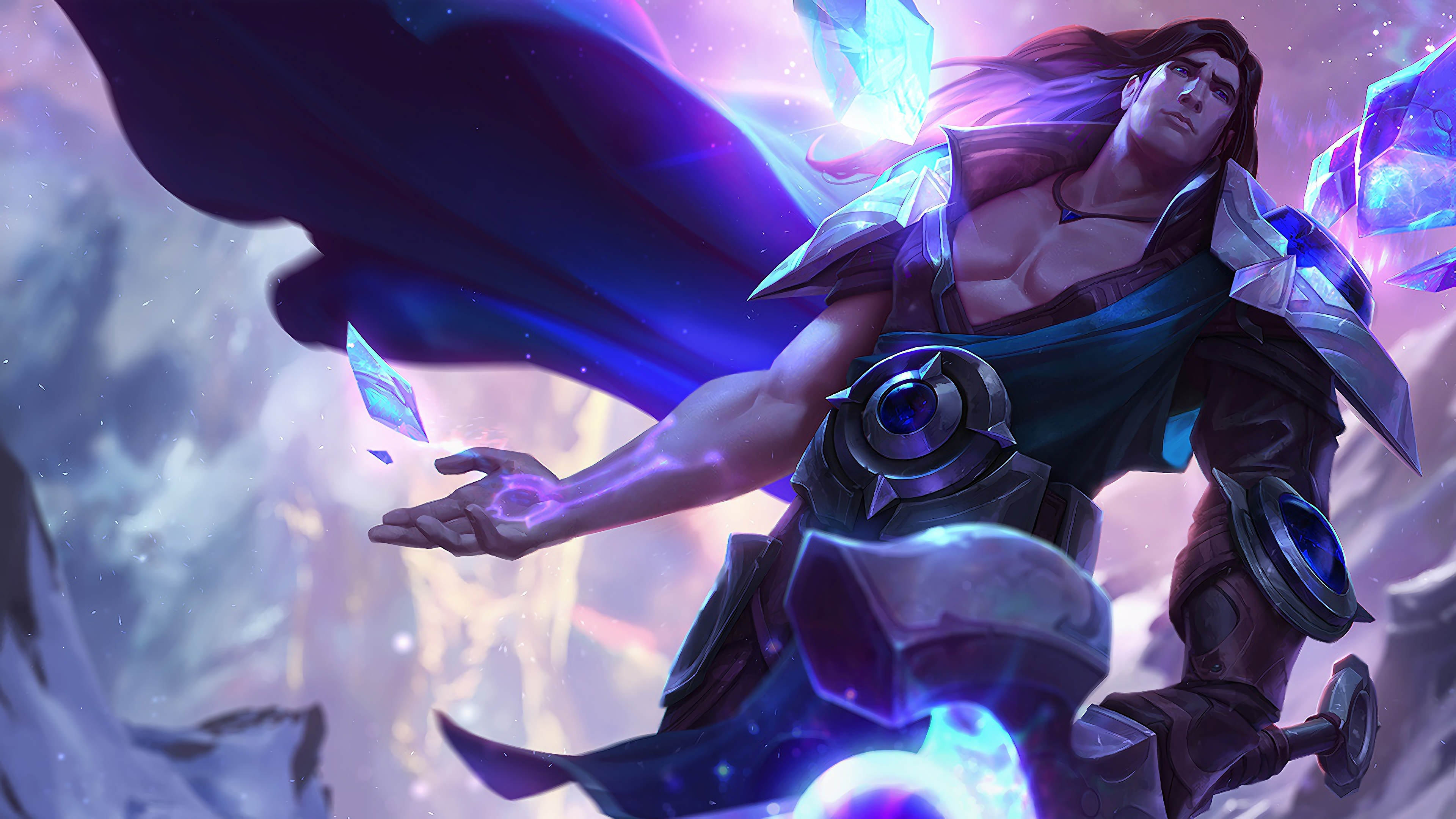 Taric LoL Splash Art League of Legends 4K 1331 3840x2160