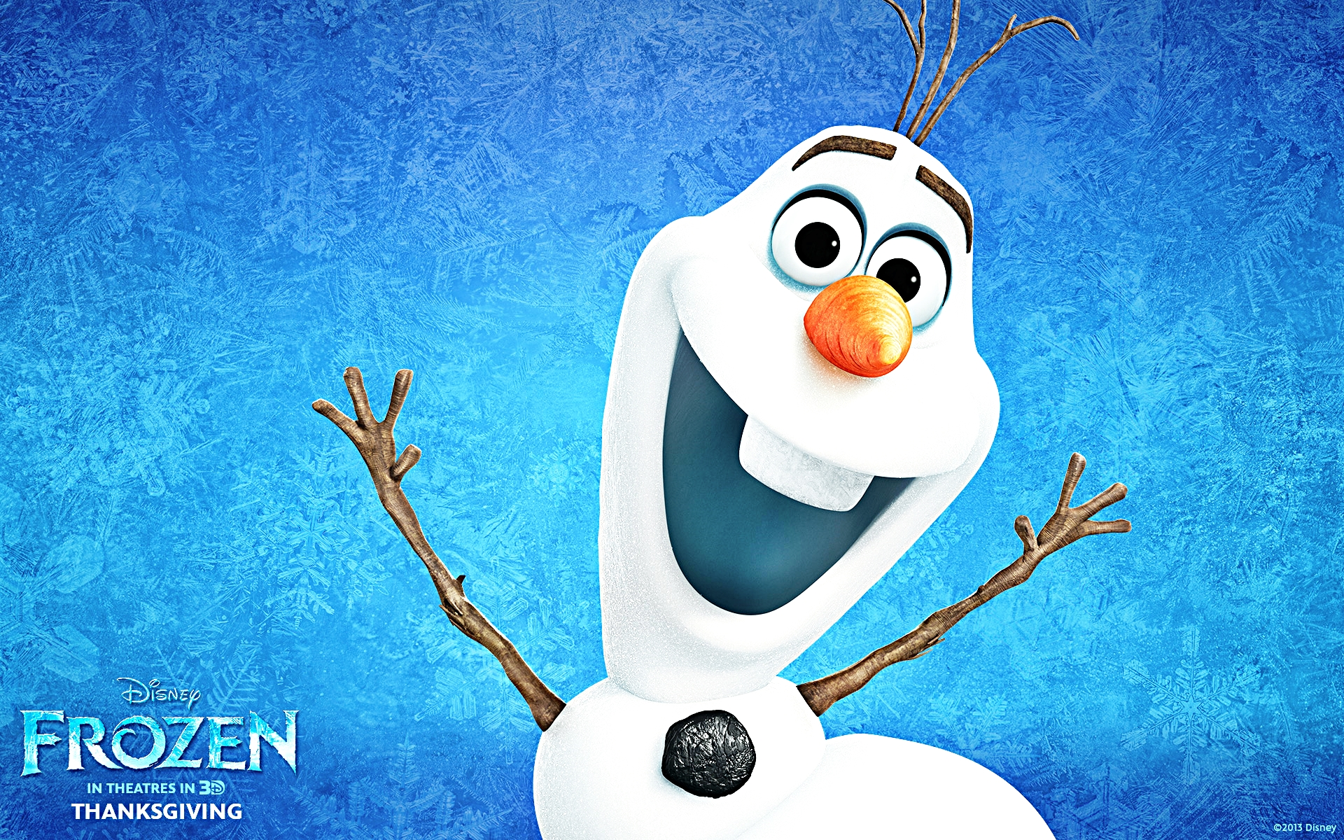 Walt Disney Wallpapers   Olaf   Walt Disney Characters Wallpaper 1920x1200