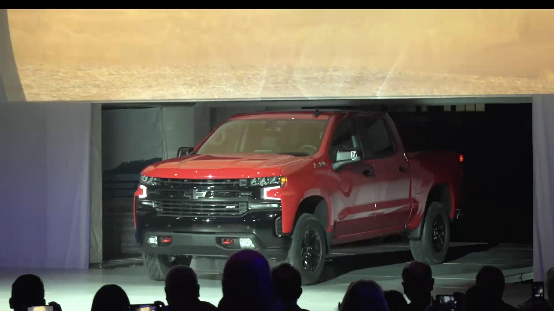 Chevrolet Reveals 2019 Silverado 1500 at North American 1920x1080