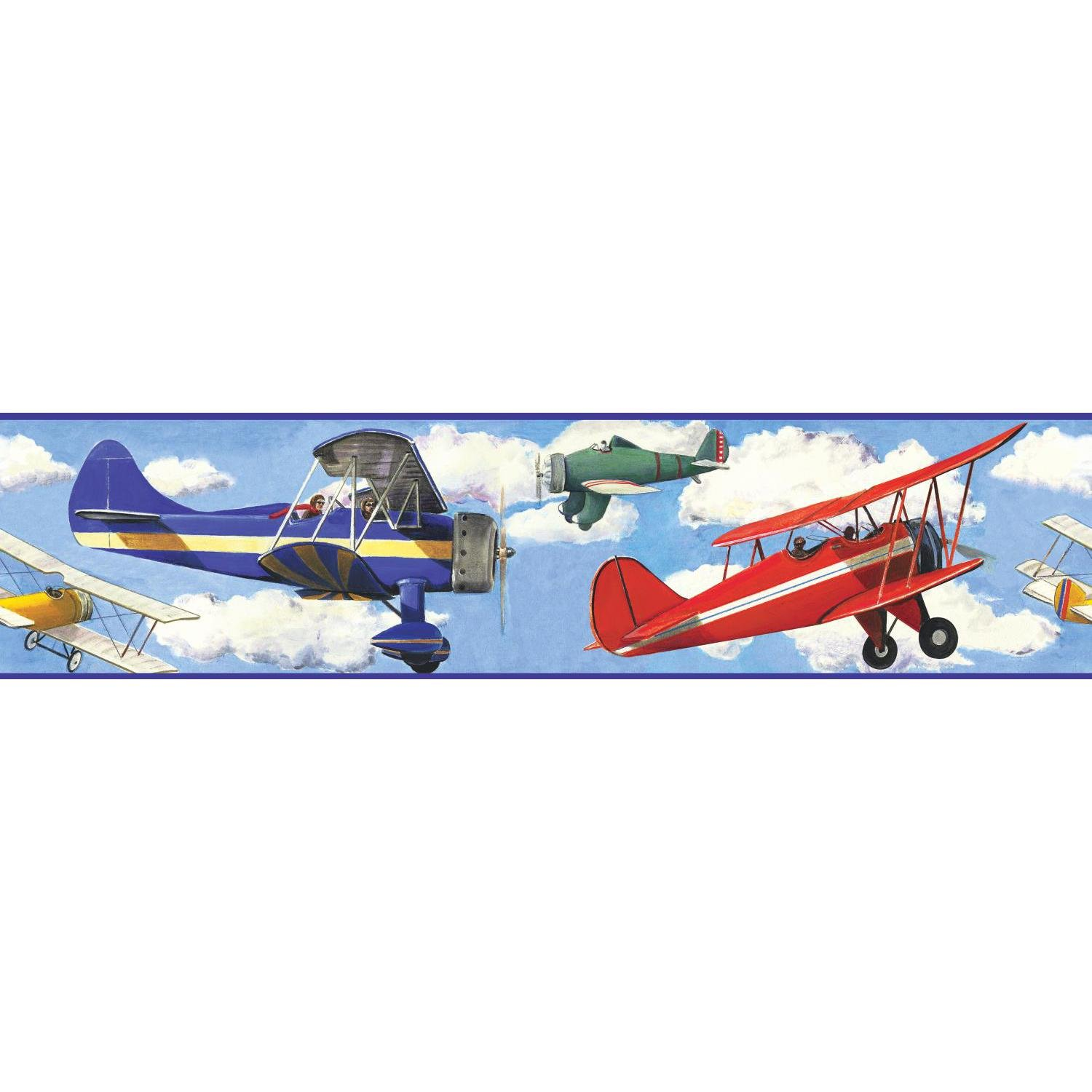 wall borders description vintage planes wallpaper border number 1500x1500