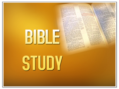 Free Download Bible Study Powerpoint Template Black
