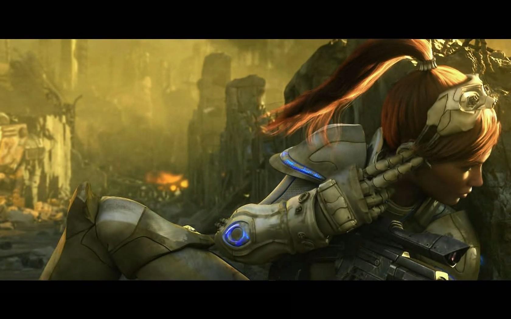 Download Sarah Kerrigan   StarCraft II wallpaper 1680x1050