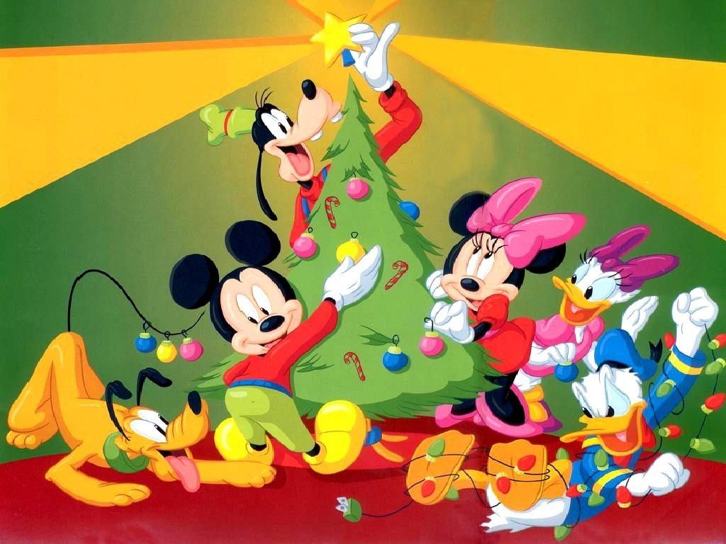 Mickey Mouse Bedroom Wallpaper Mickey Mouse Christmas Wallpaper Wallpapersafari