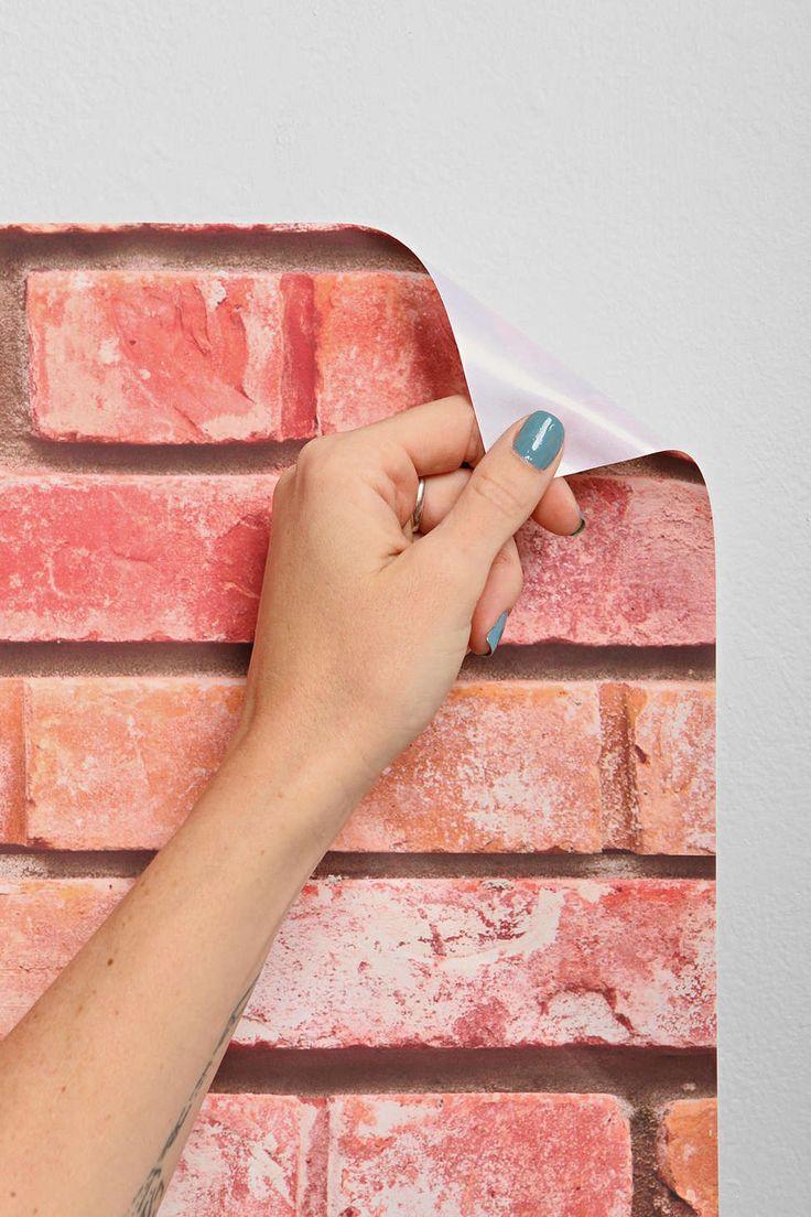 Brick Removable Wallpaper Home Pinterest 736x1104