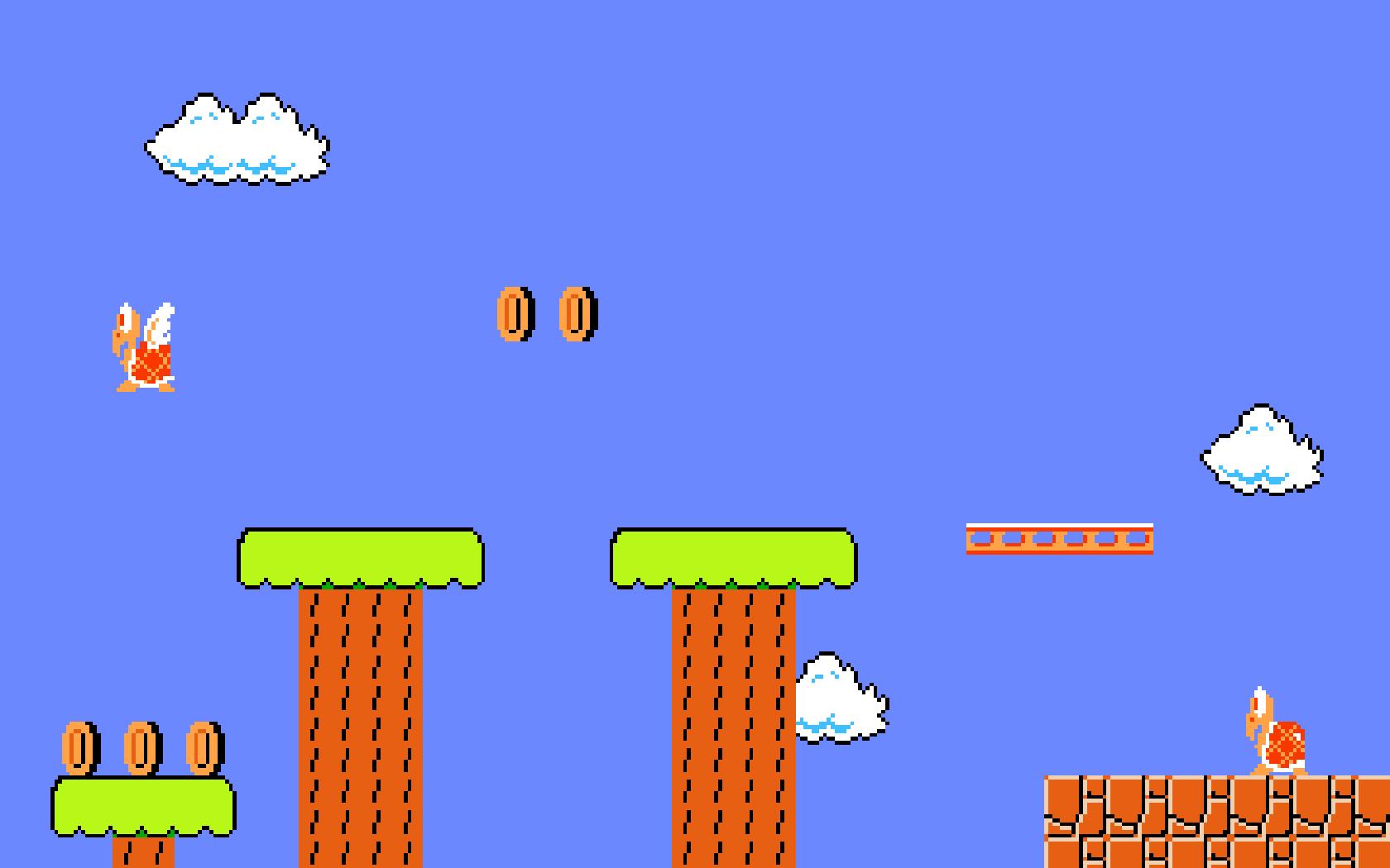 Mario Desktop Backgrounds: Mario Backgrounds