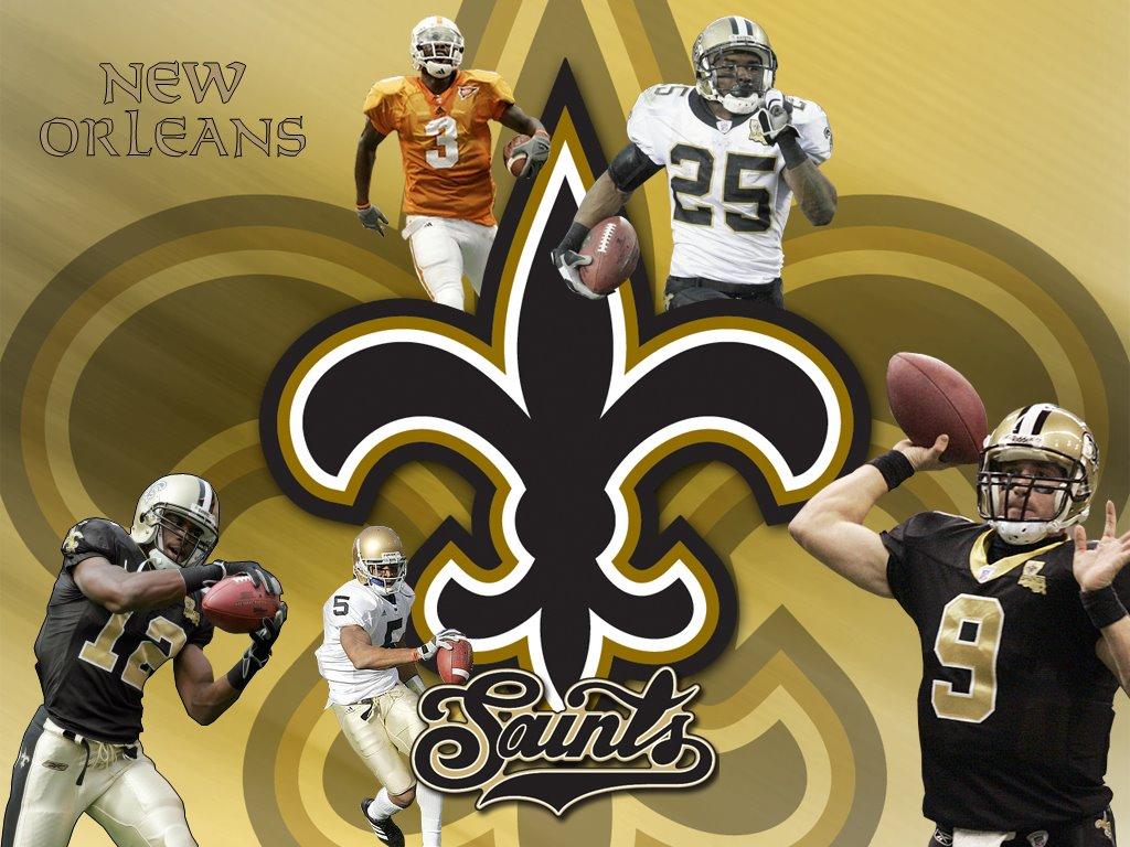 New Orleans Saints HD background New Orleans Saints wallpapers 1024x768
