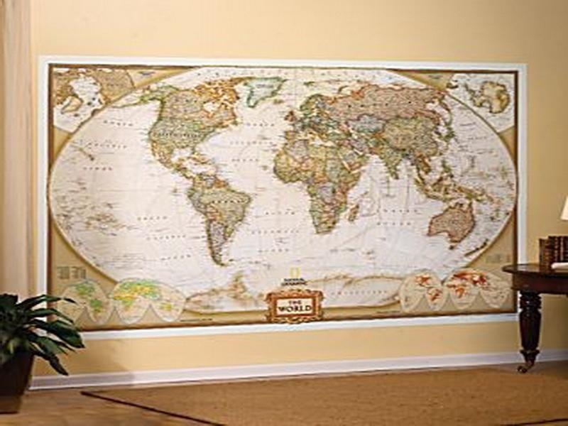 photo above is segment of Antique World Map Wallpaper for Walls 800x600
