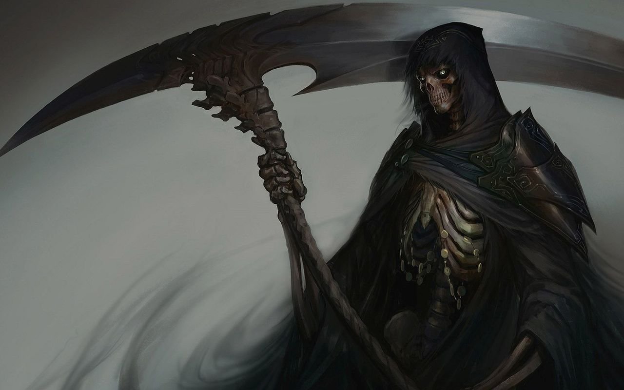 Scary Grim Reaper wallpaper 1280x800