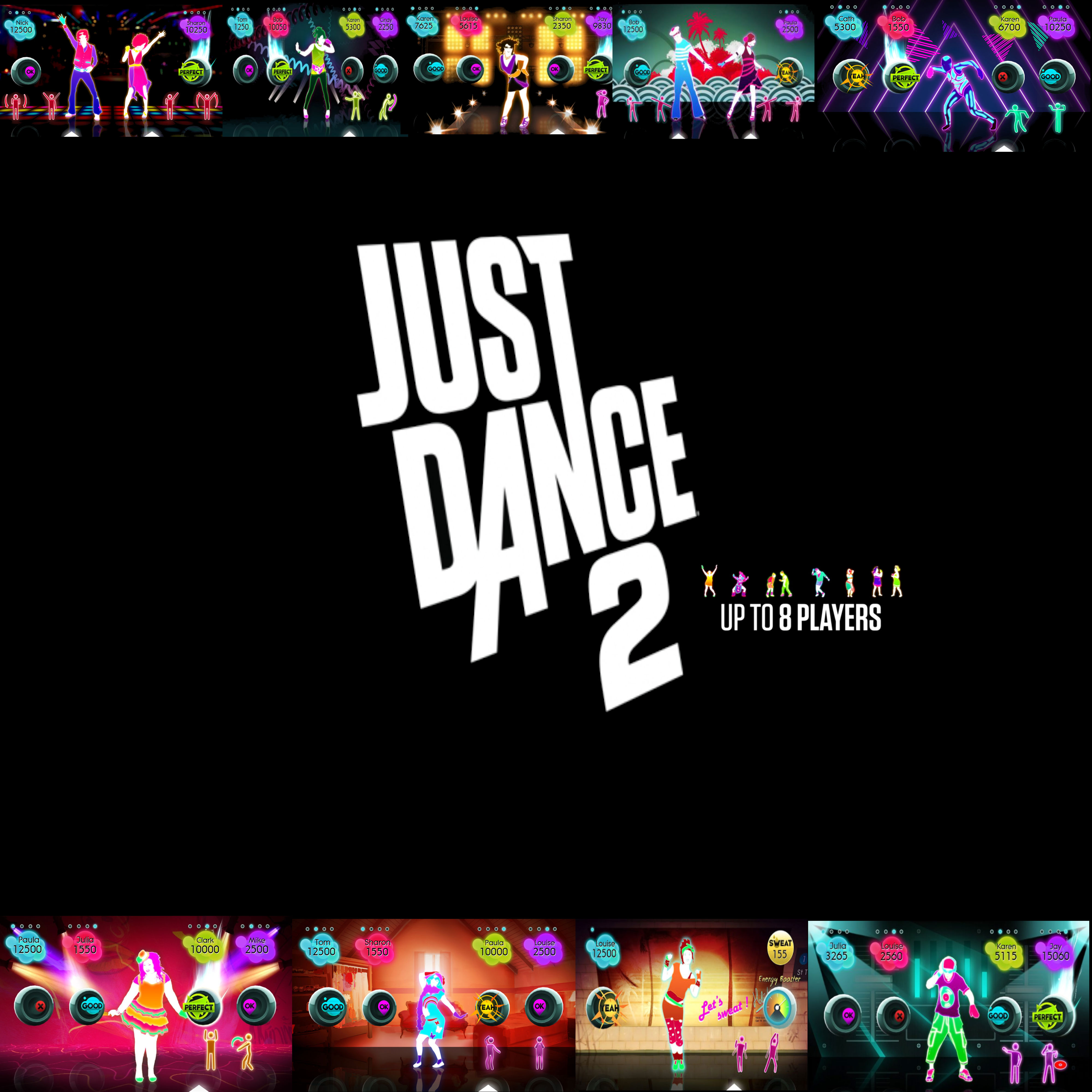 Just Dance 2 Wallaper by ruby290930 4000x4000
