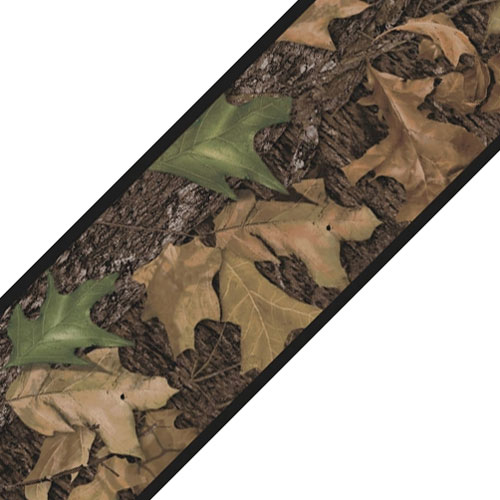 Mossy Oak Camo Wall Border Roll   Leaves Self Stick Accent Decor 500x500