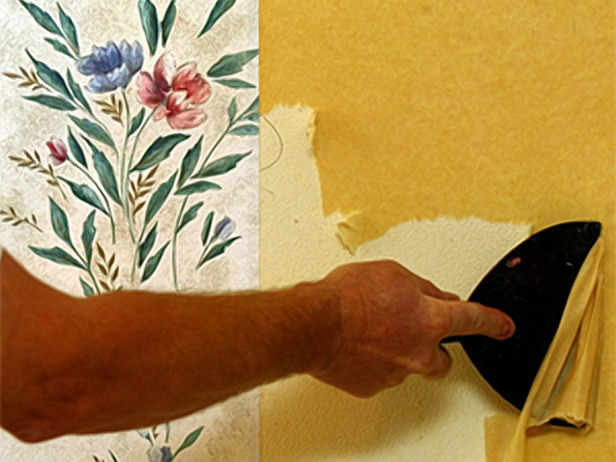 How to Remove Wallpaper Properly Lakeside Painting 616x462