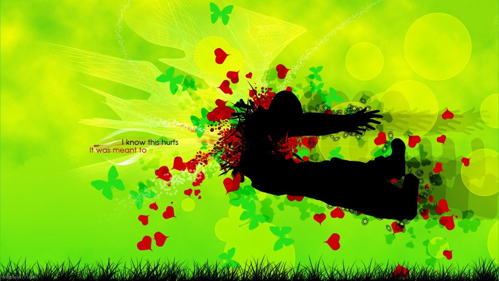 love wallpapers heart wallpapers valentine wallpapers 1600x900jpg 1600x900