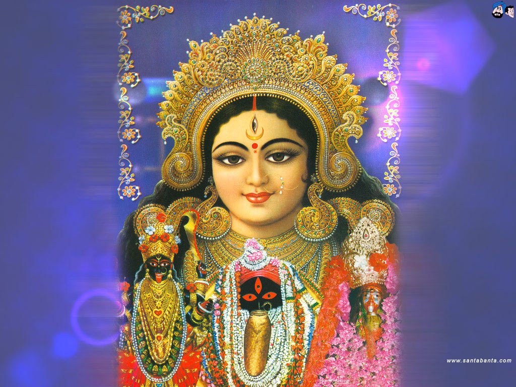 Goddess Durga Wallpaper 25 1024x768