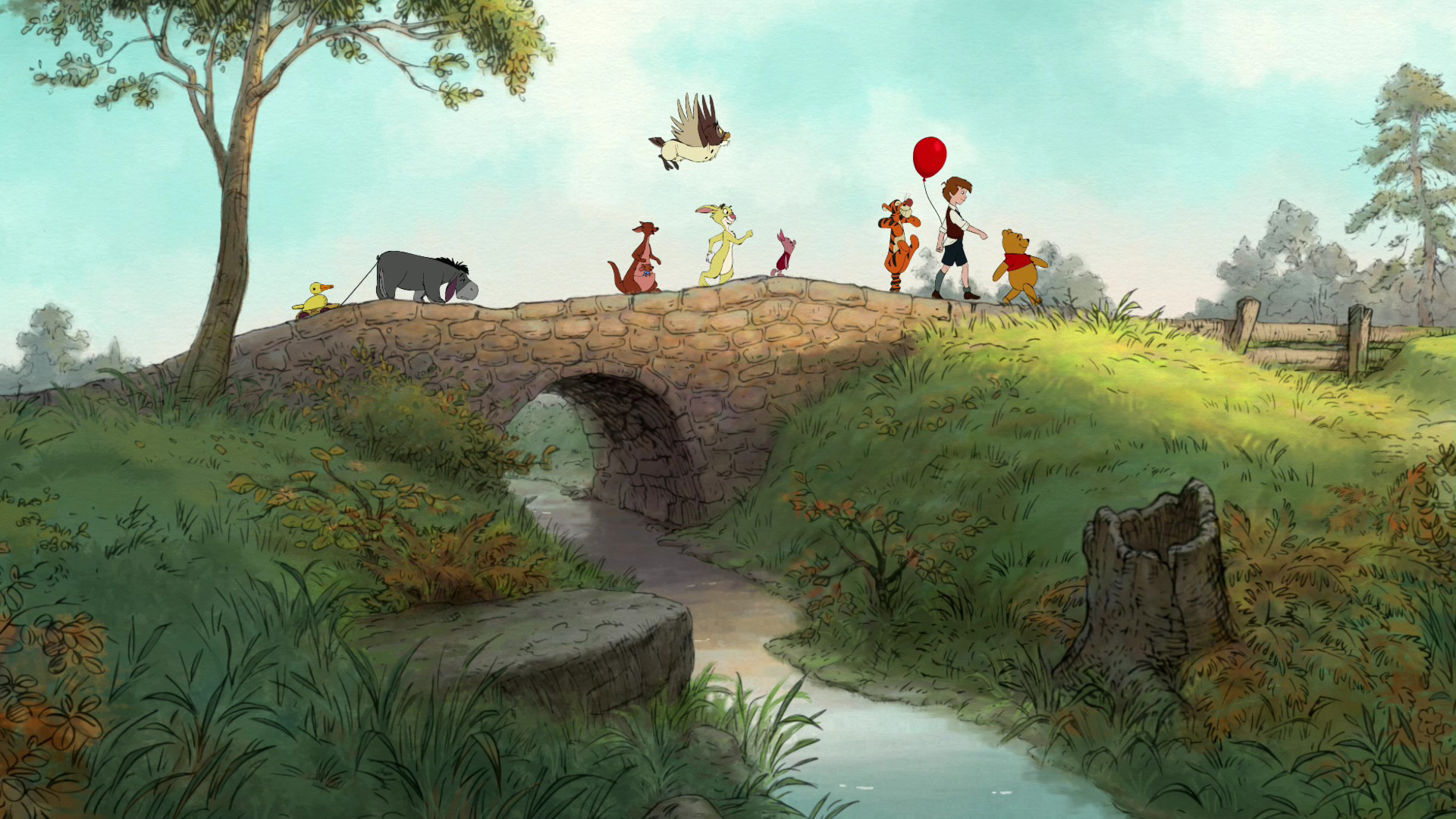 48 Classic Winnie The Pooh Wallpaper On Wallpapersafari