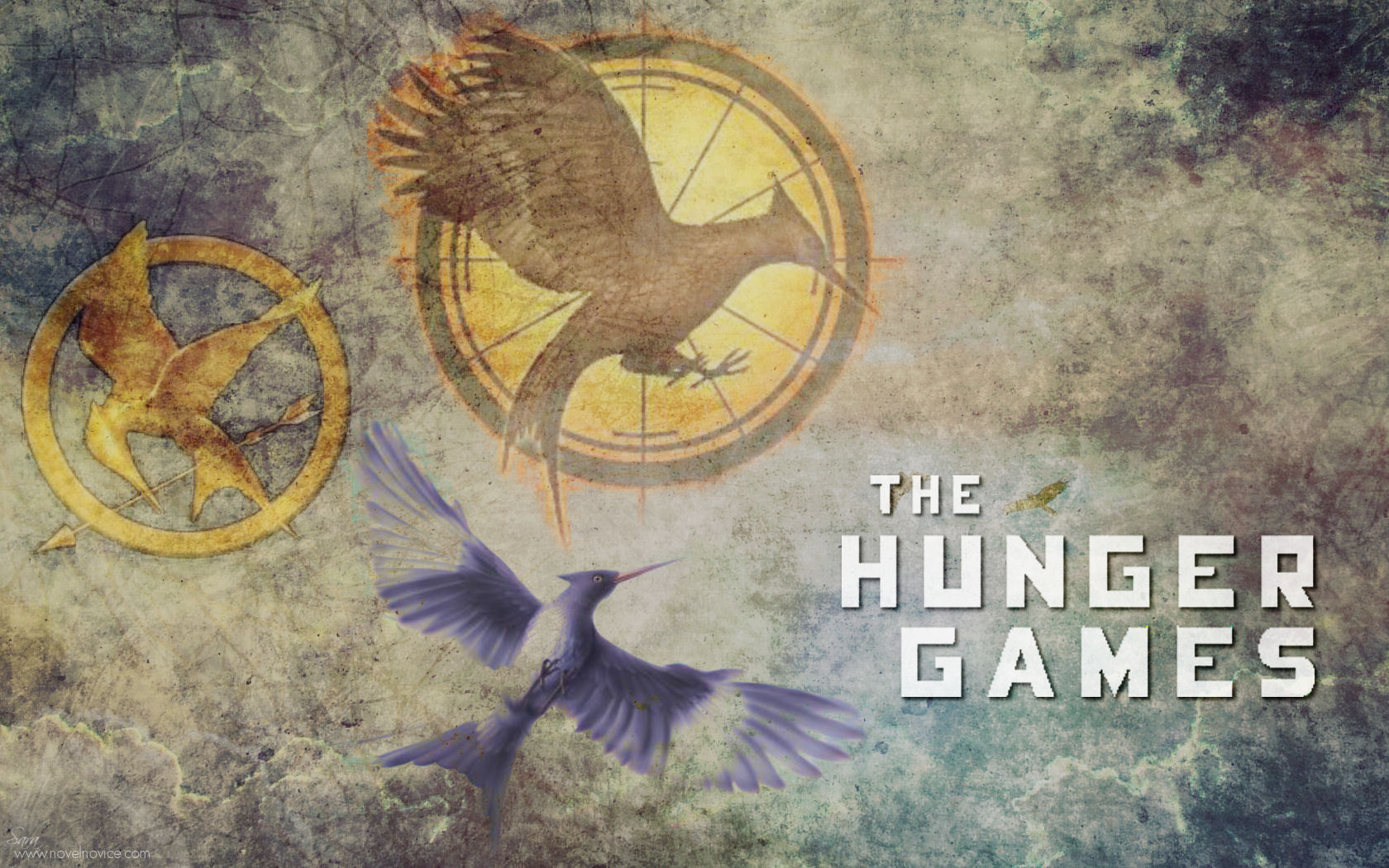 MockingJay Wallpaper   The Hunger Games Wallpaper 30634904 1680x1050