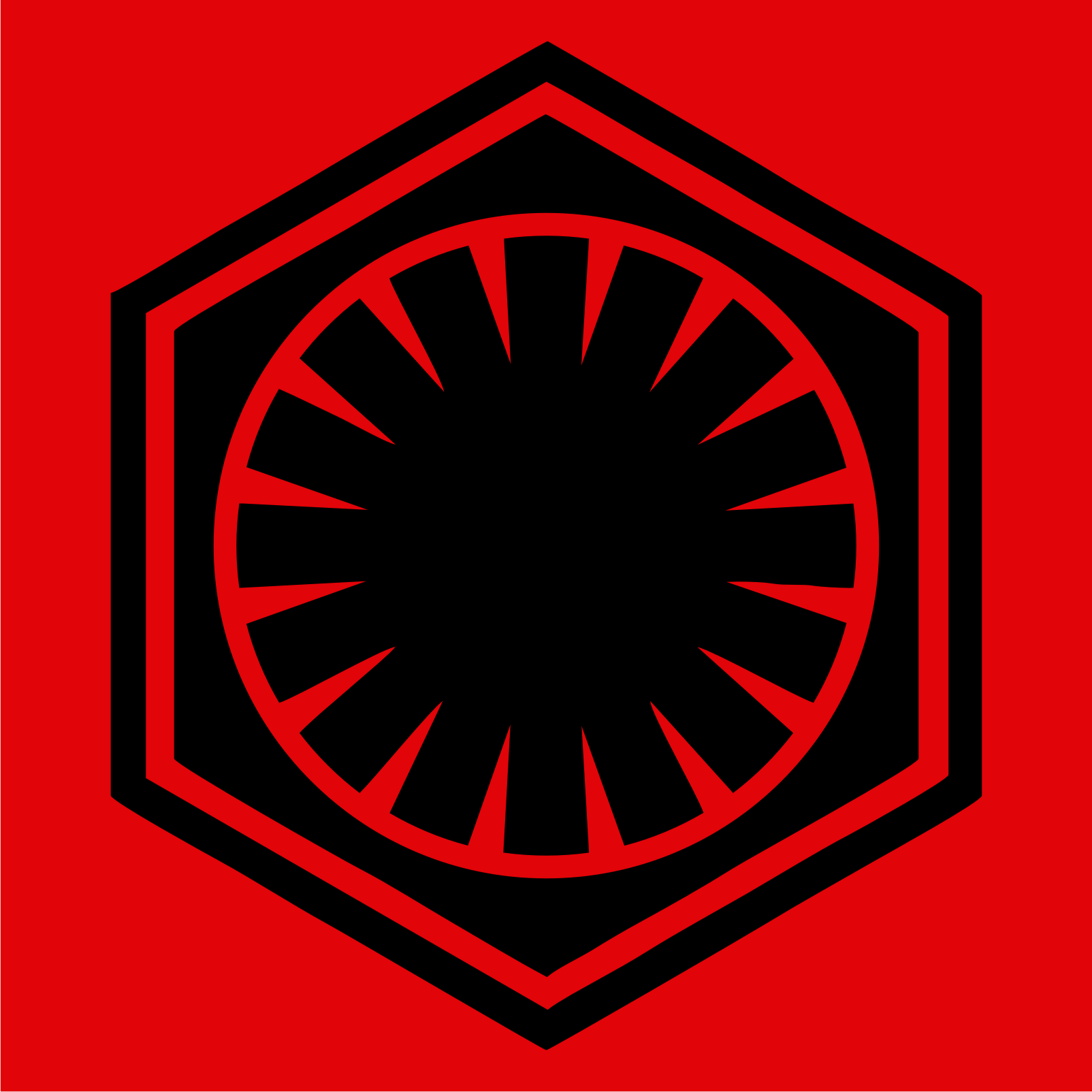 Star Wars The Force Awakens The First Order Logo by OvidiuMUCA on 1604x1604