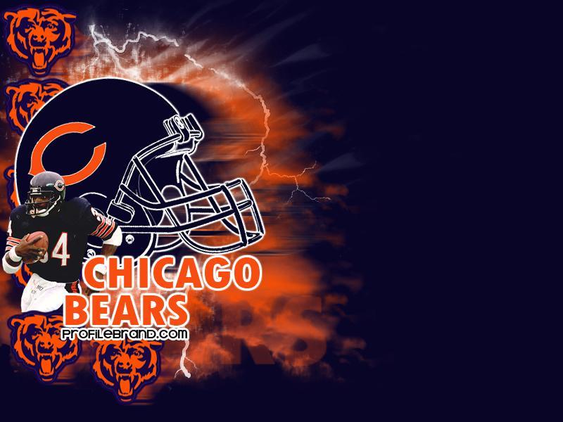 Chicago Bears NFL Football Twitter Background 800x600